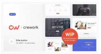 Crework - Coworking and Creative Space Theme