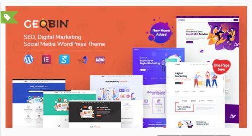 GeoBin - Digital Marketing Agency, SEO WordPress Theme