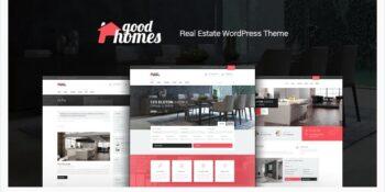 Good Homes - A Contemporary Real Estate Theme