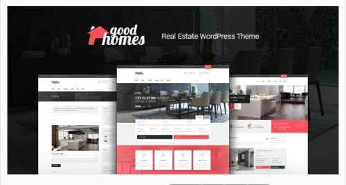 Good Homes - A Contemporary Real Estate Theme