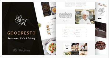 GoodResto - Restaurant WordPress Theme + Woocommerce
