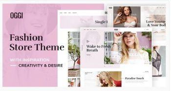 OGGI - Fashion Store WooCommerce Theme