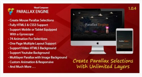 Parallax Engine - Addon For Visual Composer
