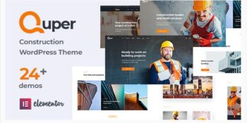 Quper v1.5 - Construction and Architecture WordPress Theme