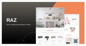 Raz - Clean, Minimal WooCommerce Theme