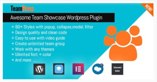 TeamPress - Team Showcase plugin