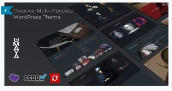 Umaya - Creative Portfolio Agency WordPress Theme