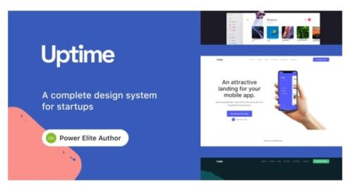 Uptime - Responsive Elementor WordPress Theme for Business