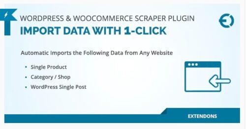 WordPress & WooCommerce Scraper Plugin - Import Data from Any Site