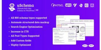 uSchema - Ultimate Rich Data Schema for WordPress