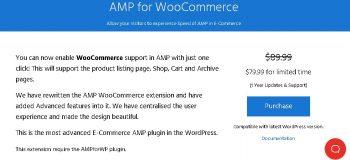 AMP WooCommerce Pro