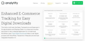 Analytify Easy Digital Downloads