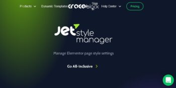 Jet Style Manager For Elementor