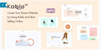Kable Multipurpose WooCommerce Theme