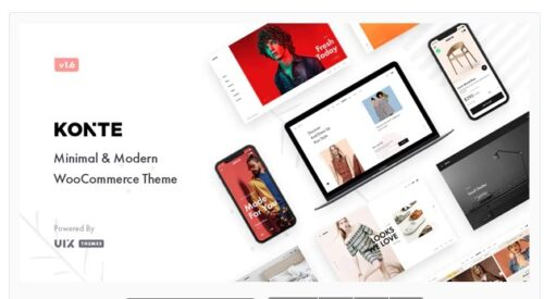 Konte Minimal & Modern WooCommerce WordPress Theme