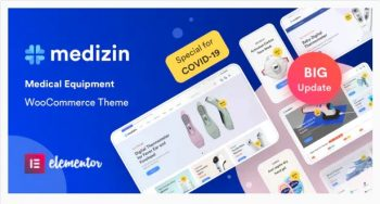 Medizin Medical Elementor WooCommerce Theme