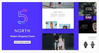 North Responsive WooCommerce Theme