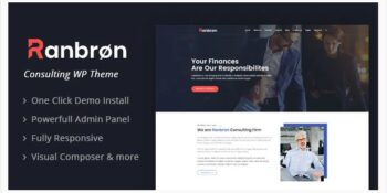 Ranbron Business and Consulting WordPress Theme