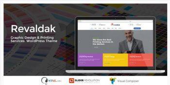 Revaldak - Printing Services WordPress Theme
