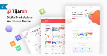 Tijarah Digital Marketplace WooCommerce Theme