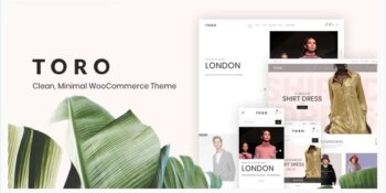 Toro Clean, Minimal WooCommerce Theme