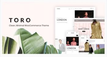 Toro Clean, Minimal WooCommerce Theme