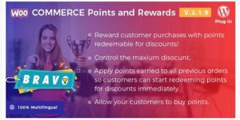 Bravo WooCommerce Points and Rewards