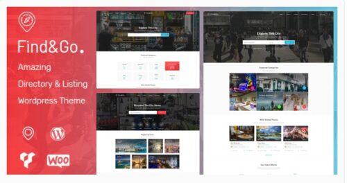 Findgo Directory & Listing WordPress Theme
