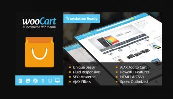 MyThemeShop WooCart WordPress Theme