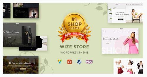 WizeStore WooCommerce Multipurpose Responsive WordPress Theme