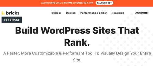 Bricks - Visual Site Builder for WordPress