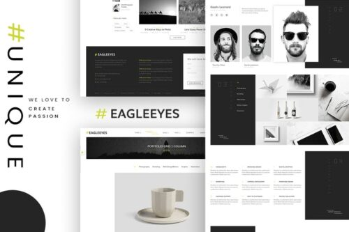 EAGLEEYES - Creative Multipage and One HTML5 Page