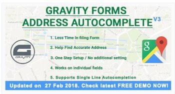 Gravity Forms Address Autocomplete