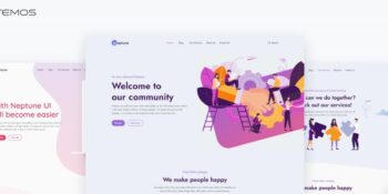 Neptune - powerful theme for applications and SAAS websites
