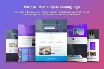 Pacifico - Multifunction HTML Home Page