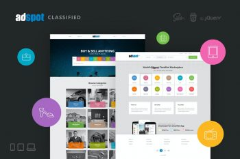 AdSpot - Authentic Classified Template