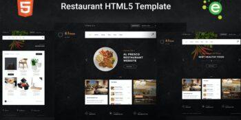 AlFresco - HTML5 Ecommerce Restaurant Template