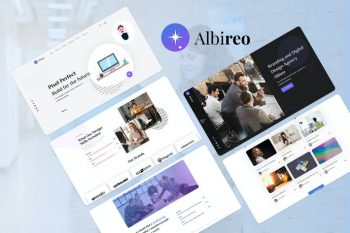 Albireo - HTML5 Creative One Page Template