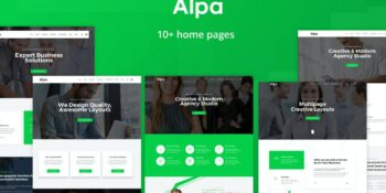 Alpa Responsive Multipurpose HTML5 Template