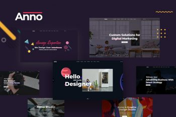 Anno - Digital Agency HTML5 Template