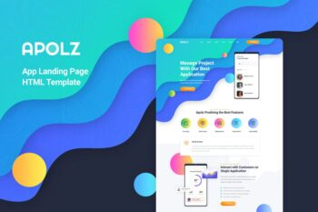 Apolz - App Landing Page HTML Template