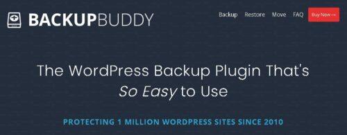 BackupBuddy - Back up, restore and move WordPress
