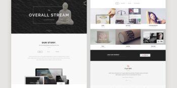 BigStream - Multipurpose One Page Template