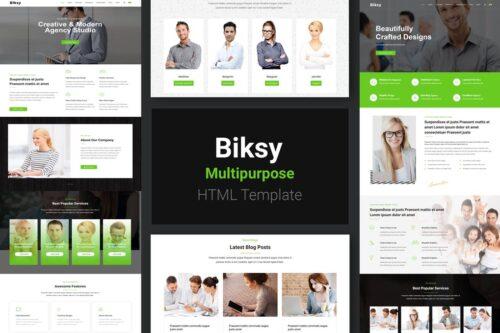 Biksy Business HTML5 Template