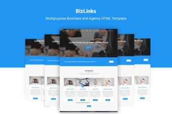 BizLinks Multifunction Business and Agency Template
