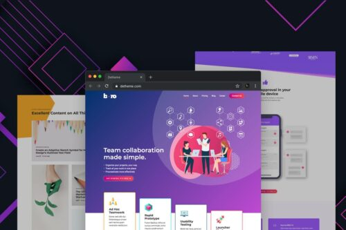 Boro - HTML templates for SaaS & Apps Startup Comp
