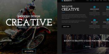 Bounty - Modern Responsive HTML Template