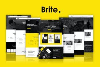 Brite Responsive MultiPurpose HTML5 Template
