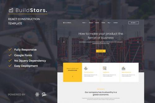 BuildStars - React Construction Template