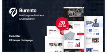 Burento - Multipurpose Business WordPress Theme